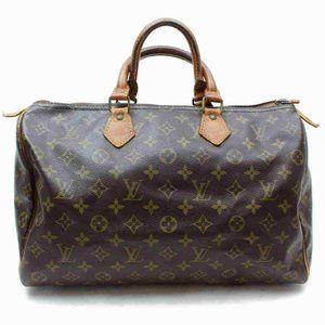 Auth Louis Vuitton Speedy 35 Hand Bag #6450L18